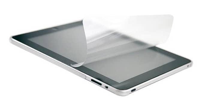 Lámina protectora de pantalla para iPad