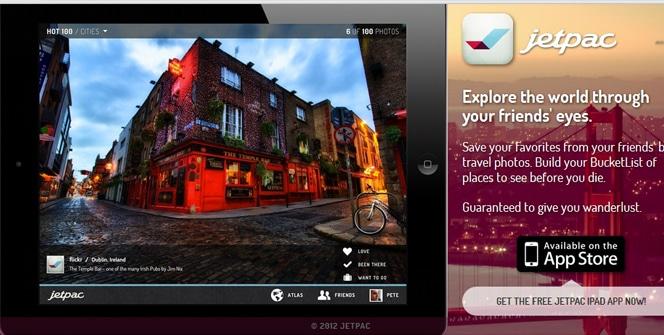JetPac para iPad