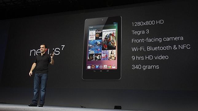 Nexus 7 anuncio