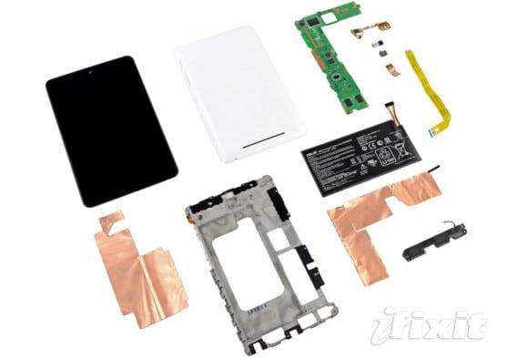Piezas Google Nexus 7