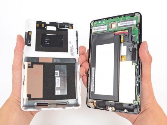 Abrir Google Nexus 7