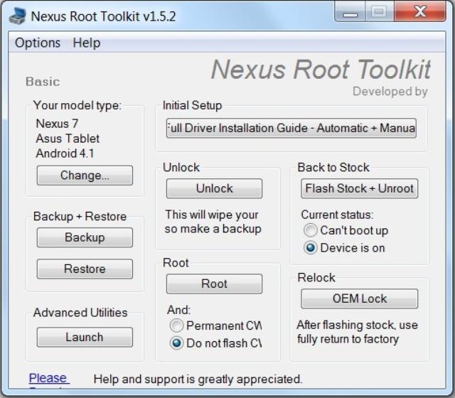 Root Nexus 7