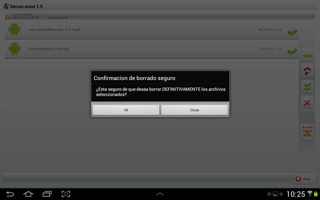 Secure erase pro Android