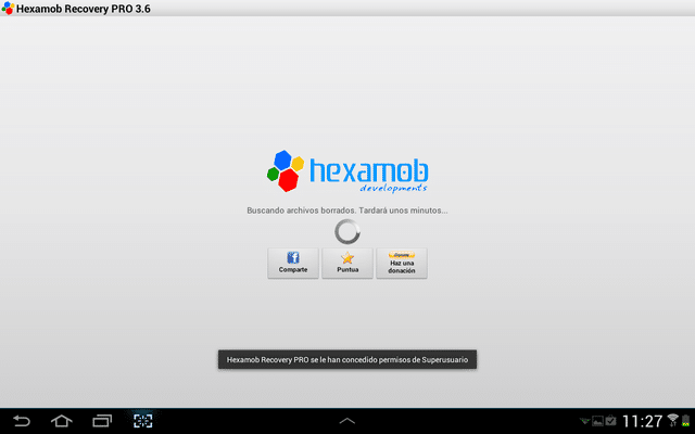 Hexacomb Recovery