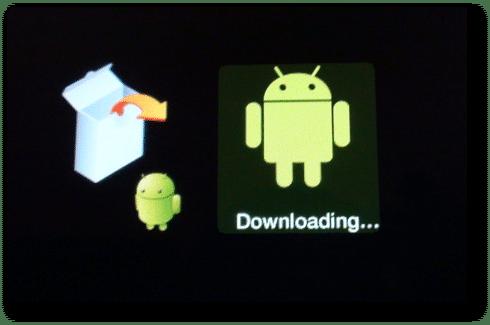 Galaxy Tab actualización a ICS