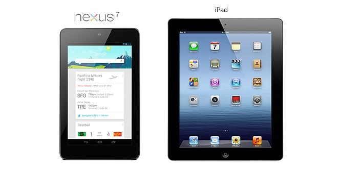 Nexus 7 VS Nuevo iPad -resistencia y reparaciones