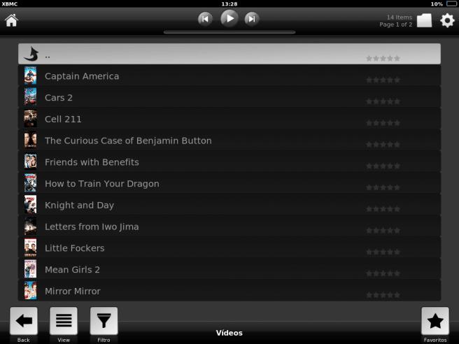 XBMC Media Center iPad