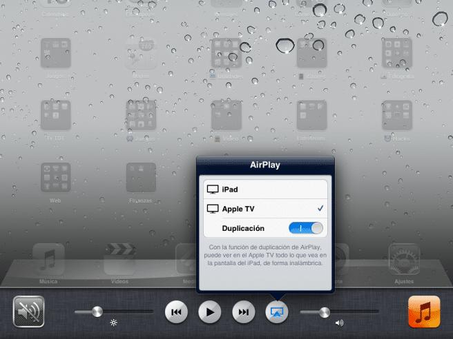 AirPlay iPad