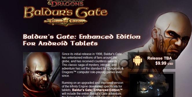 Baldur's Gate: Enhanced Edition para Android