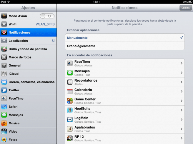 mejorar batería iPad