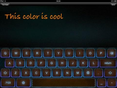 colorkeyboard iPad