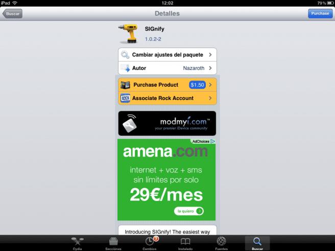 Firmas html iPad