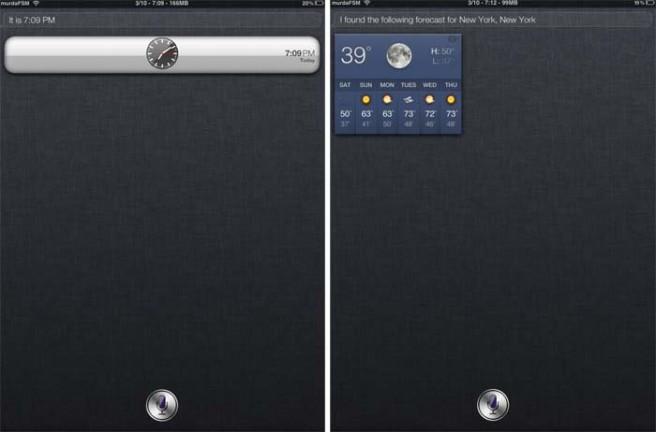 iPad Siri