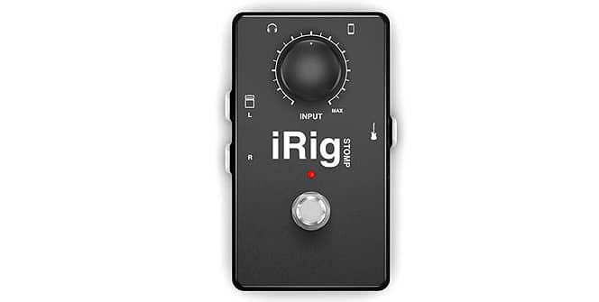 iRig Stomp de IK Multimedia para iPad