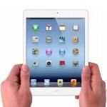 iPad Mini blanco y negro
