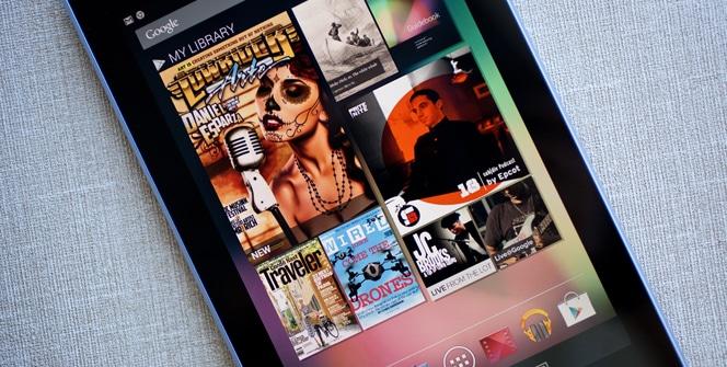Contenidos Nexus 7