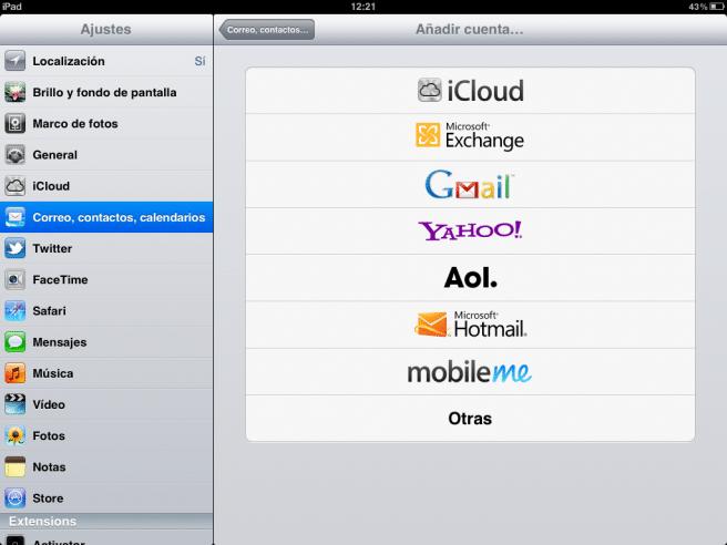 Outlook iPad