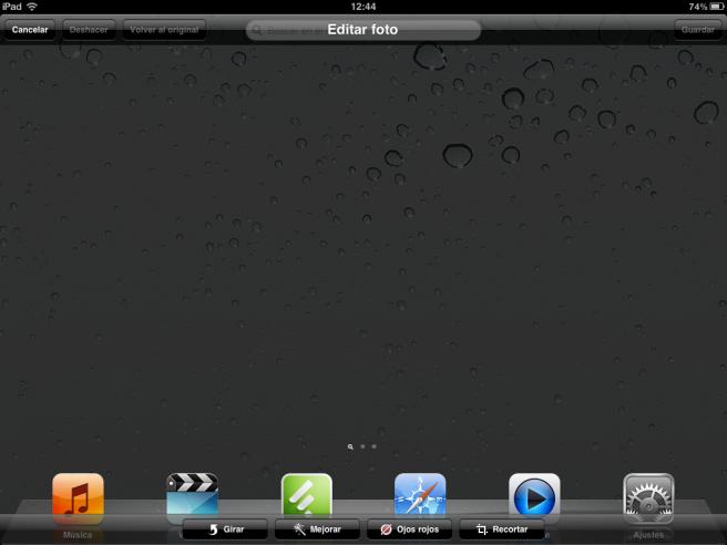 pantallazo iPad