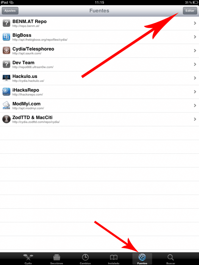 Cydia iPad
