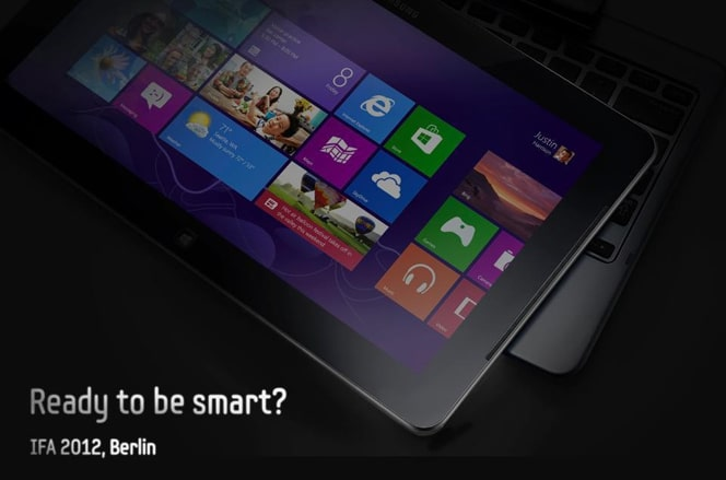 Samsung Windows 8 tableta híbrida