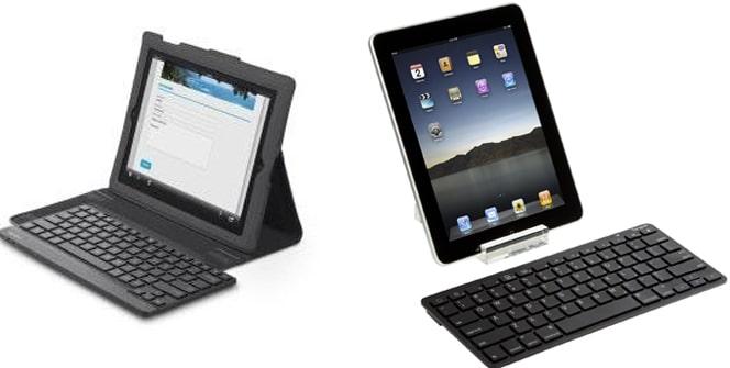 Teclados inalámbricos iPad