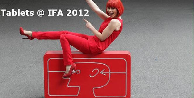 Tablets en IFA de Berlín 2012