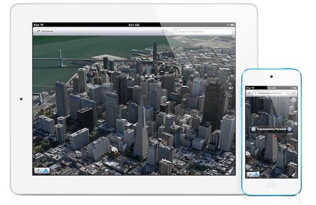 Apple Maps iOS 6