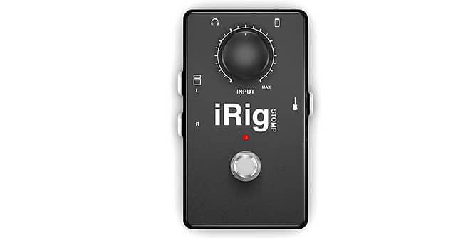iRig Stomp para iPad