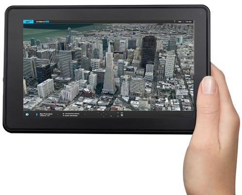 Kindle Fire 2 Nokia Maps