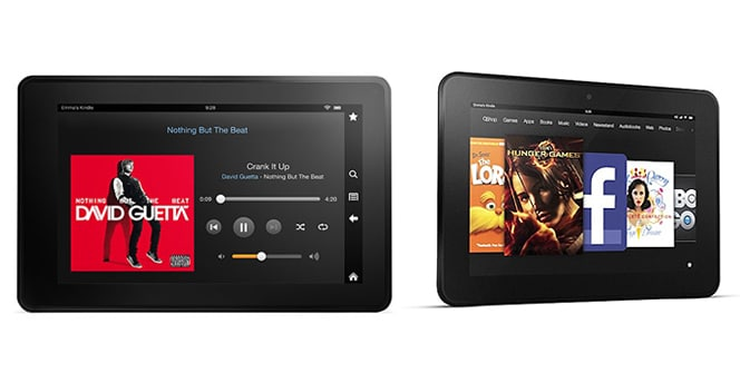 Kindle Fire HD VS Kindle Fire