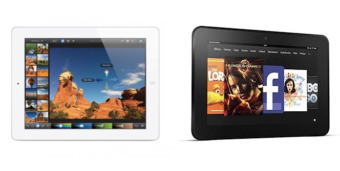 Kindle Fire HD 8.9 VS Nuevo iPad