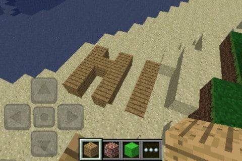 Minecraft para iPad