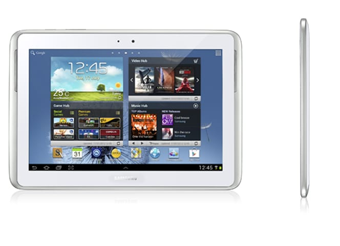 Samung Galaxy Note 10.1 vs Nuevo iPad