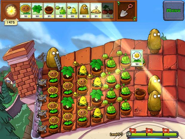 Plantas contra Zombies para iPad