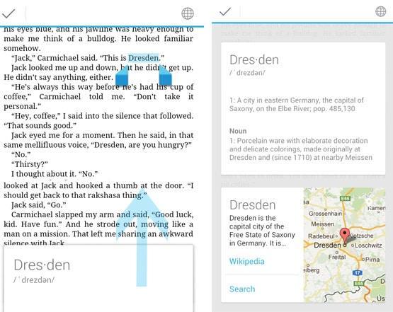 Google Play Books maps
