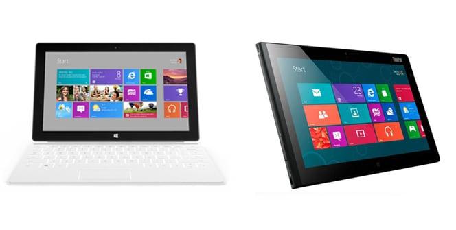Surface Pro VS Lenovo ThinkPad 2
