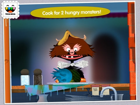 Toca Kitchen Monsters para iPad