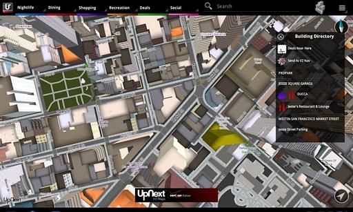 Mapas 3D UpNext