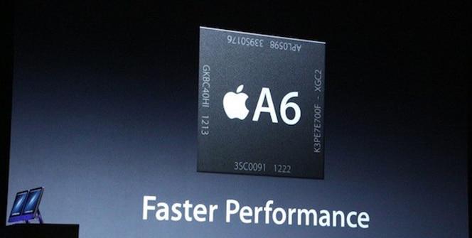 iPad 4 chip A6