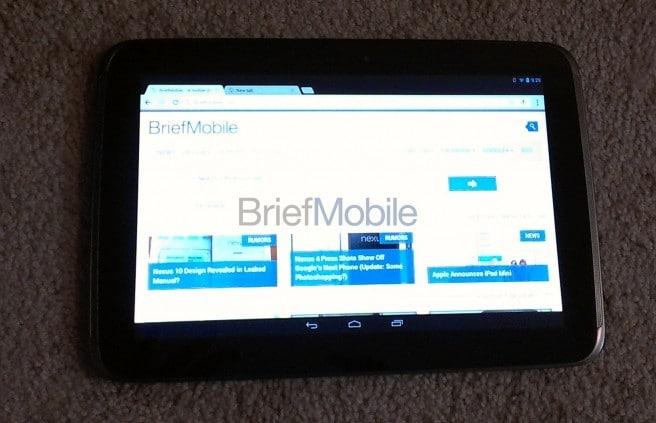 Nexus 10 real