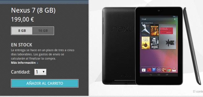 Nexus 7 8GB