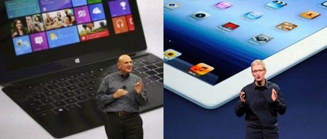 Nuevo iPad vs Surface