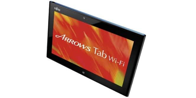 Fujitsu ARROWS Tab QH55/J Windows 8
