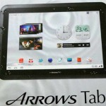 Fujitsu Arrows Tab Windows 8