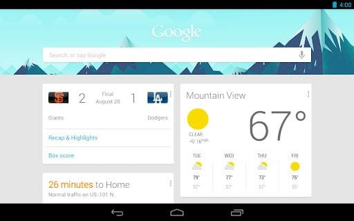 Google Now actualizado