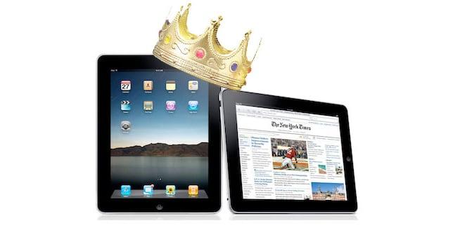 iPad rey de las tablets