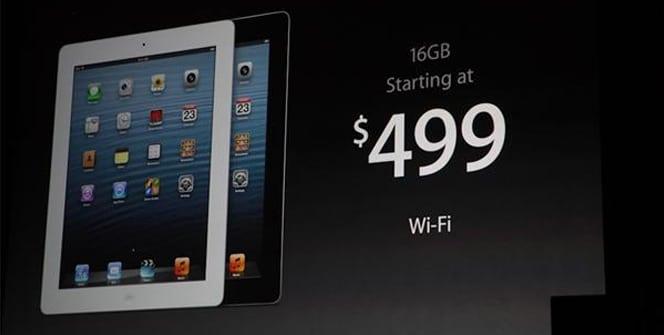 iPad 4 precio