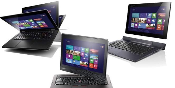 Lenovo tablets Windows 8