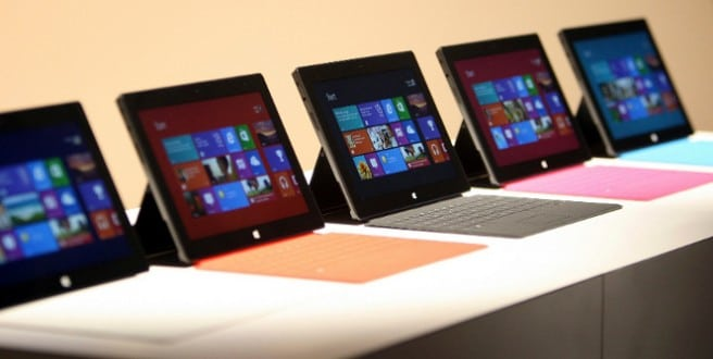 Surface tablet teclado