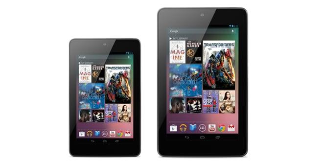 Nexus 10 y Nexus 7 32 GB